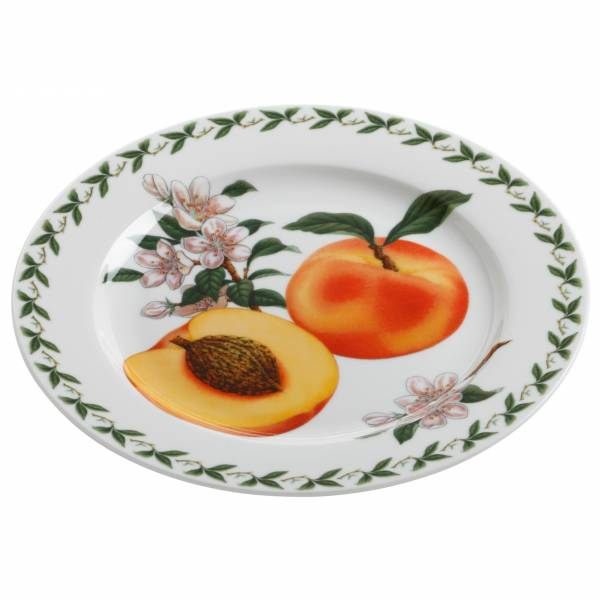 ORCHARD FRUITS Teller Aprikose, 20 cm, Bone China Porzellan, in Geschenkbox