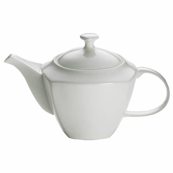 CASHMERE SQUARE Teekanne für 6 Tassen, Bone China Porzellan, in Geschenkbox