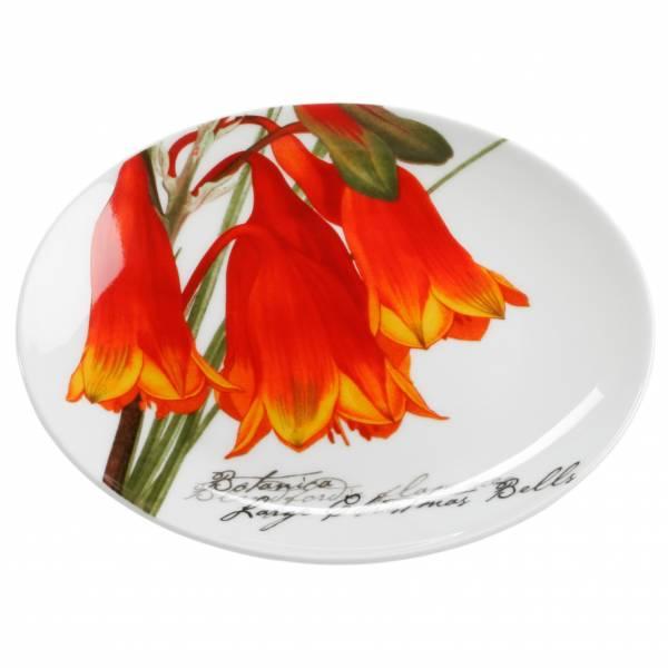 BOTANIC Teller Floral Glocken, 15 cm, Bone China Porzellan, in Geschenkbox