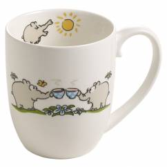 OTTIFANTEN Kaffeebecher Motiv 3 300 ml, Bone China Porzellan, in Geschenkbox
