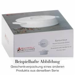 EPICURIOUS Kasserolle 2,6 l, Porzellan, in Geschenkbox