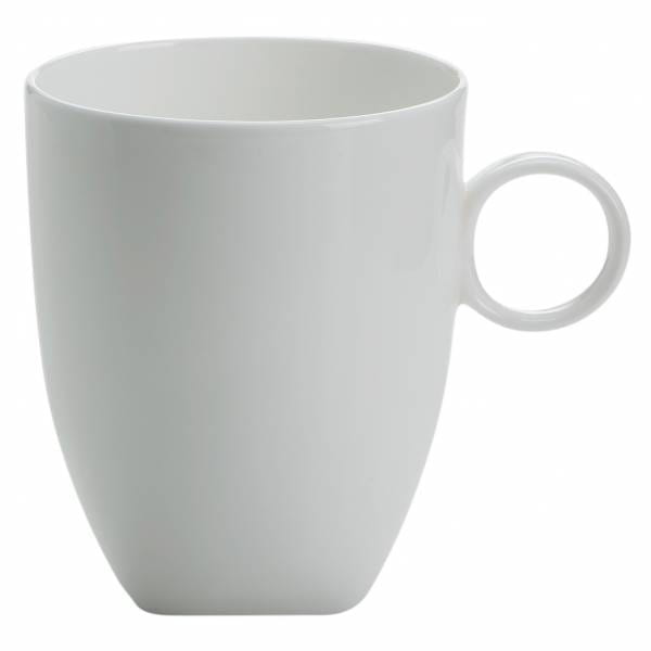 CASHMERE SQUARE Becher, Bone China Porzellan