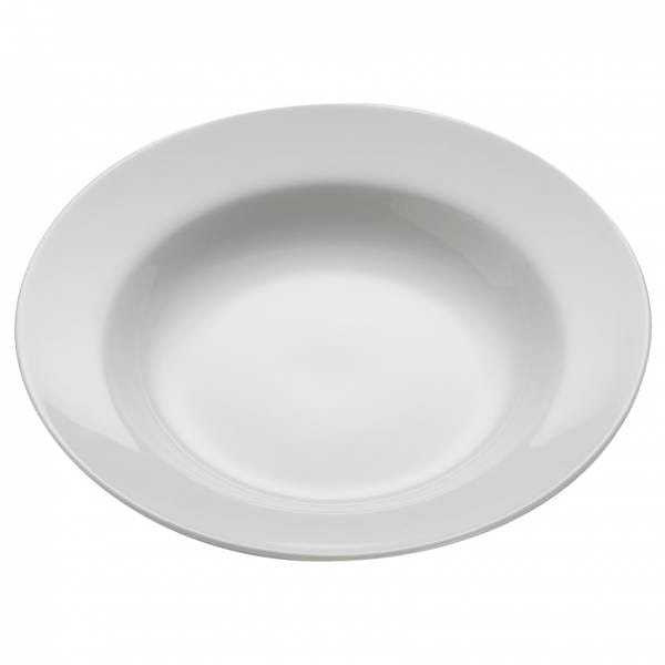 ROUND Teller Suppe, 23 cm, Porzellan