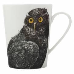 MARINI FERLAZZO Becher Owl, Premium-Keramik, in Geschenkbox