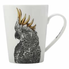 MARINI FERLAZZO Becher Cockatoo, Premium-Keramik, in Geschenkbox